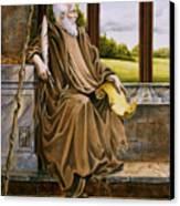 The Hermit Nascien Canvas Print by Melissa A Benson