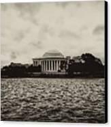 The Jefferson Memorial Canvas Print by Bill Cannon