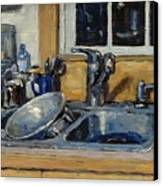 The Kitchen Sink Canvas Print by Thor Wickstrom