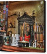 The Lazy Gecko Bar Key West Canvas Print by Scott Bert