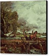 The Leaping Horse Canvas Print by John Constable