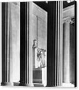 The Lincoln Memorial Canvas Print by War Is Hell Store