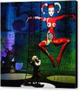 The Little Puppet Master Canvas Print by Bob Orsillo