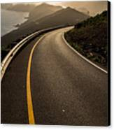 The Long And Winding Road Canvas Print by John Daly