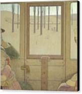 The Long Journey Canvas Print by Frederick Cayley Robinson