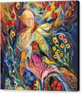 The Love Story Canvas Print by Elena Kotliarker