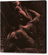 The Lovers Canvas Print by Richard Young