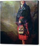 The Macnab Canvas Print by Sir Henry Raeburn