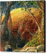 The Magic Apple Tree Canvas Print by Samuel Palmer