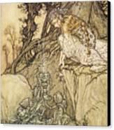 The Magic Cup Canvas Print by Arthur Rackman