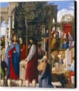 The Marriage At Cana Canvas Print by Julius Schnorr von Carolsfeld