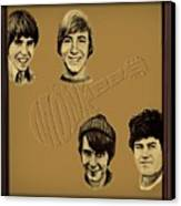 The Monkees  Canvas Print by Movie Poster Prints