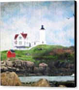 The Nubble Canvas Print by Darren Fisher