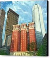 The Omni William Penn Hotel Canvas Print by Erik Schutzman