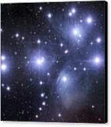 The Pleiades Canvas Print by Robert Gendler