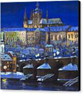 The Prague Panorama Canvas Print by Yuriy  Shevchuk