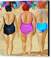 The Real South Beach Canvas Print by Michael Lee