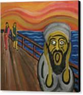 The Real Terror Canvas Print by Darren Stein