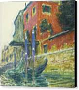 The Red House Canvas Print by Claude Monet