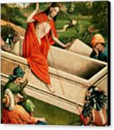 The Resurrection Canvas Print by Johann Koerbecke