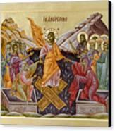 The Resurrection Of Christ Canvas Print by Julia Bridget Hayes