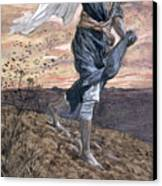 The Sower Canvas Print by Tissot
