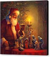 The Spirit Of Christmas Canvas Print by Greg Olsen