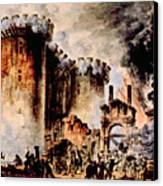 The Storming Of The Bastille, Paris Canvas Print by Everett