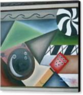 The Strike Canvas Print by Raul  Vergara
