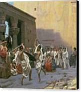 The Sword Dance Canvas Print by Jean Leon Gerome