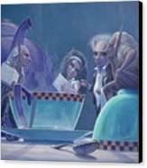 The Tea Party Canvas Print by Leonard Filgate