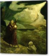 The Tempest Canvas Print by  Albert Pinkham Ryder