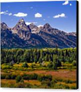 The Tetons II Canvas Print by Robert Bales