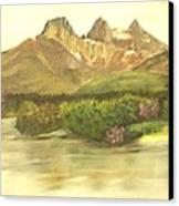 The Three Sisters Canvas Print by Nicholas Minniti