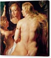 The Toilet Of Venus Canvas Print by Peter Paul Rubens