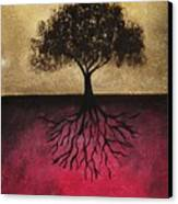 The Tree Of Life Canvas Print by Edwin Alverio