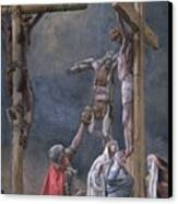 The Vinegar Given To Jesus Canvas Print by Tissot