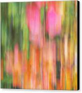 The Watercolor Garden Canvas Print by Aimelle
