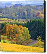 The Willamette Valley Canvas Print by Margaret Hood