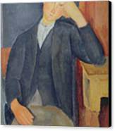 The Young Apprentice Canvas Print by Amedeo Modigliani