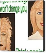 Think Again Canvas Print by  Laurie Homan