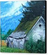 This Old House Canvas Print by Mike Ivey