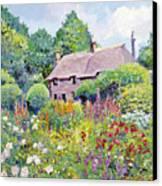 Thomas Hardy House Canvas Print by David Lloyd Glover