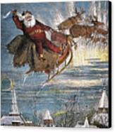 Thomas Nast: Santa Claus Canvas Print by Granger