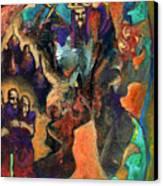 Three Dwarves Canvas Print by David Matthews