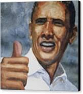 Thumbs Up Canvas Print by Shirley Braithwaite Hunt