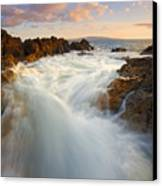 Tidal Surge Canvas Print by Mike  Dawson