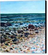 Tides Out Canvas Print by Ralph Papa