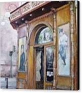 Tirso De Molina Old Tavern Canvas Print by Tomas Castano