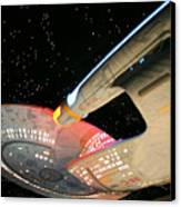 To Boldly Go Canvas Print by Kristin Elmquist